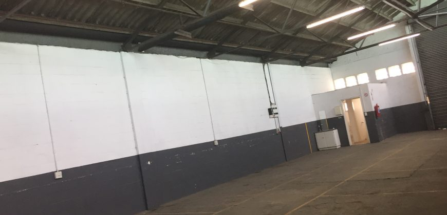 256 m² Warehouse to Rent Gunners Factory Park Epping Industria
