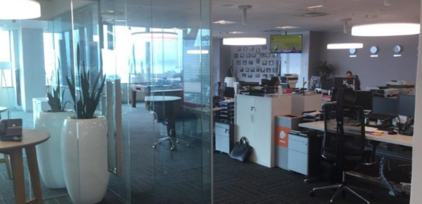 1,263 m² Office Space to Rent Cape Town CBD Portside Towers