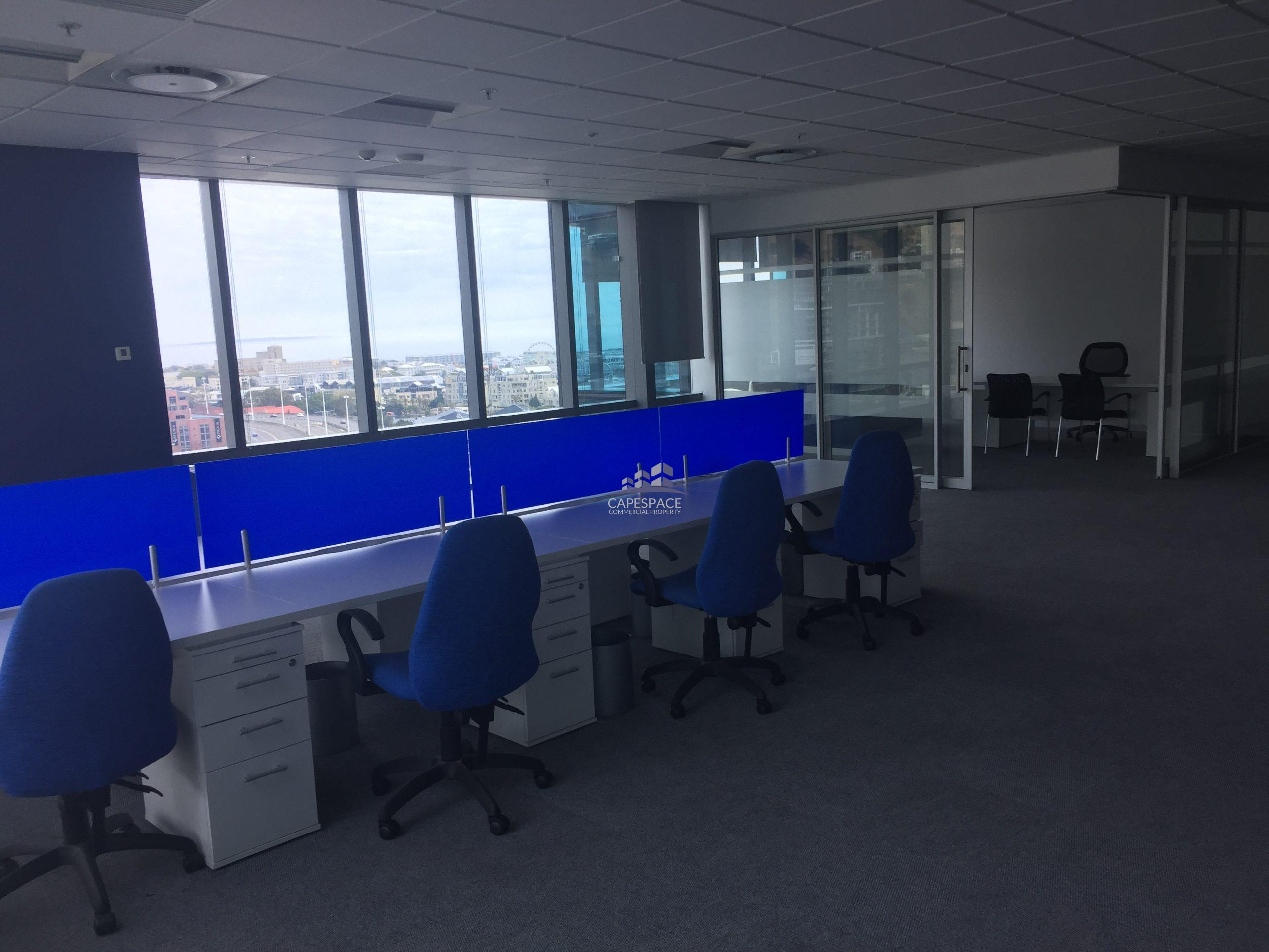1,001 m² Office Space to Rent Cape Town CBD Portside Towers