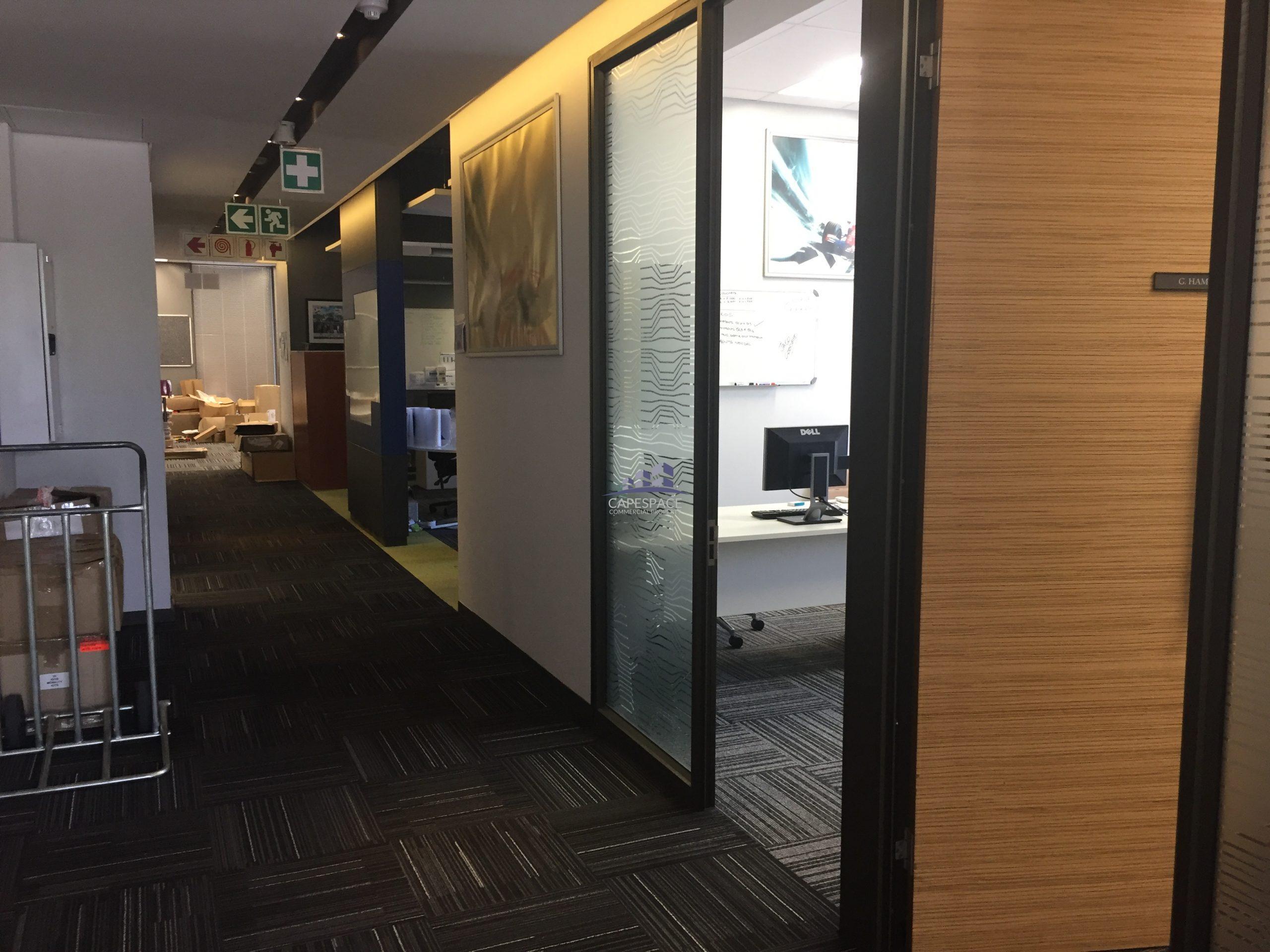 921 m² Office Space to Rent Century City Phillip Morris Building