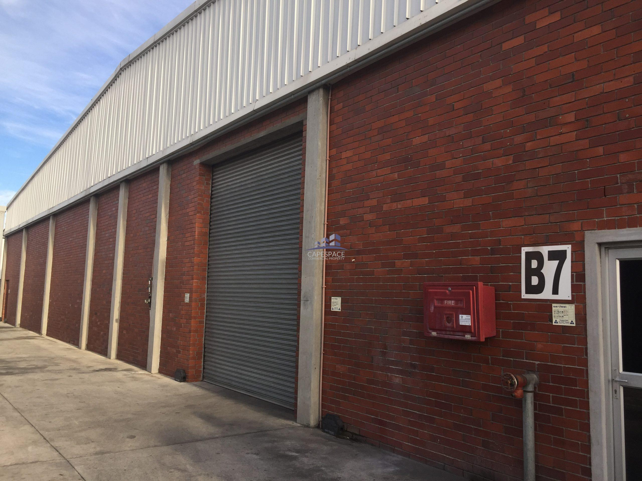 250 m² Warehouse to Rent Parow Industria Connaught Park