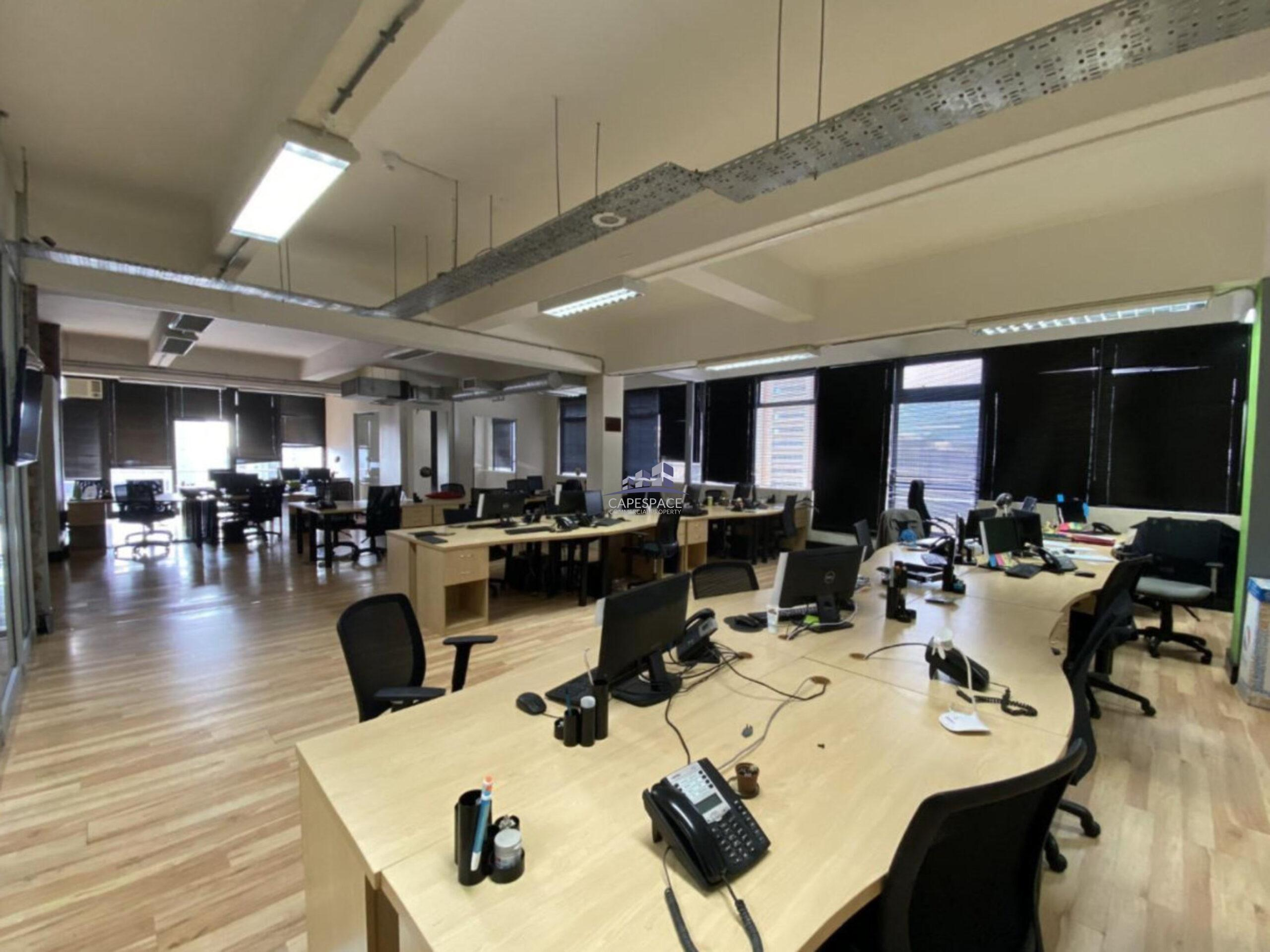 777 m² Office Space to Rent Cape Town CBD 4 Loop Street