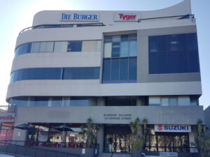578 m² Office Space to Rent Tygervalley Bloemhof Building