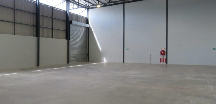 645 m² Warehouse to Rent Stikland Rio Industrial Park