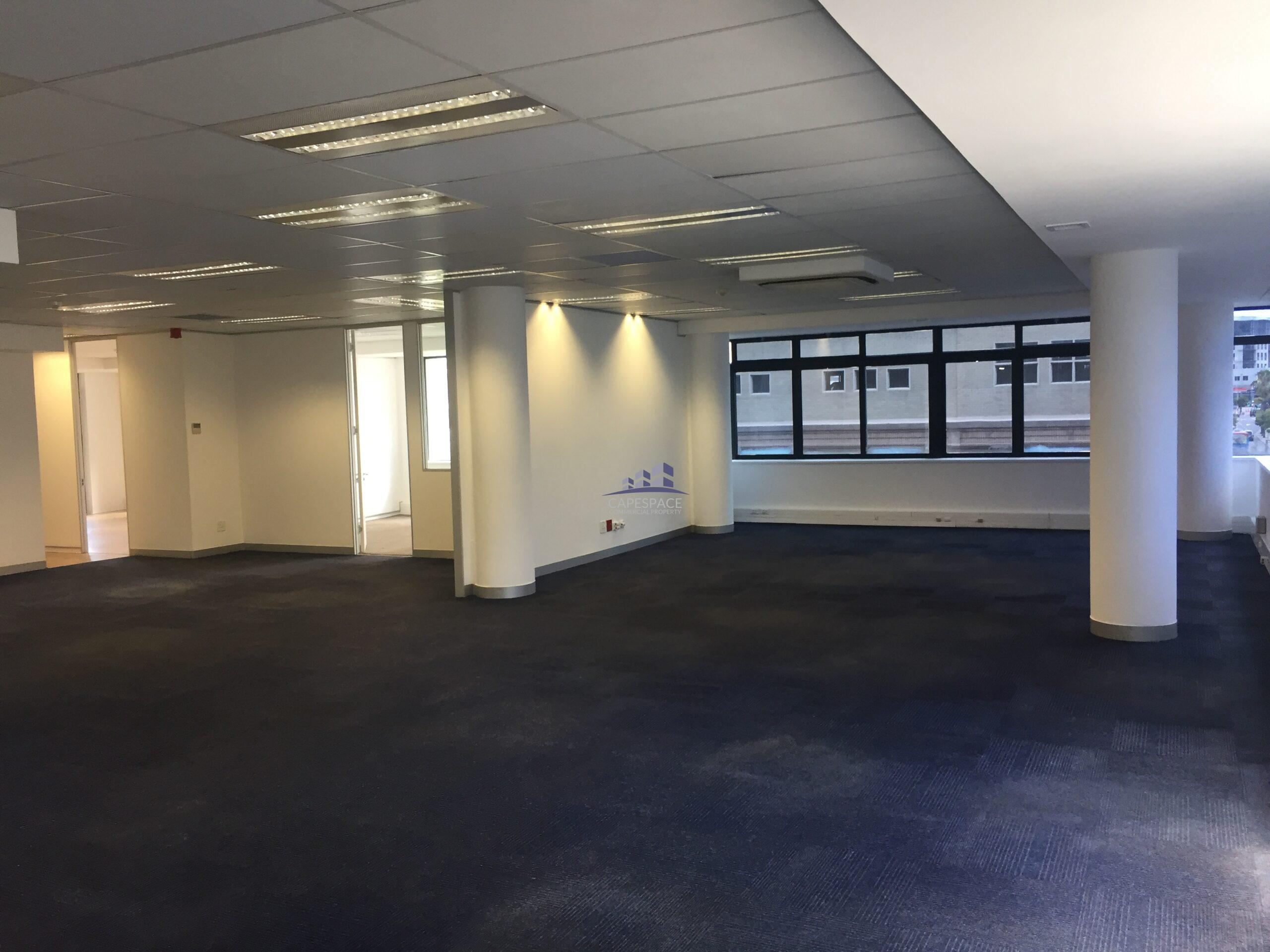 323 m² Office Space to Rent Cape Town CBD 33 Bree Street